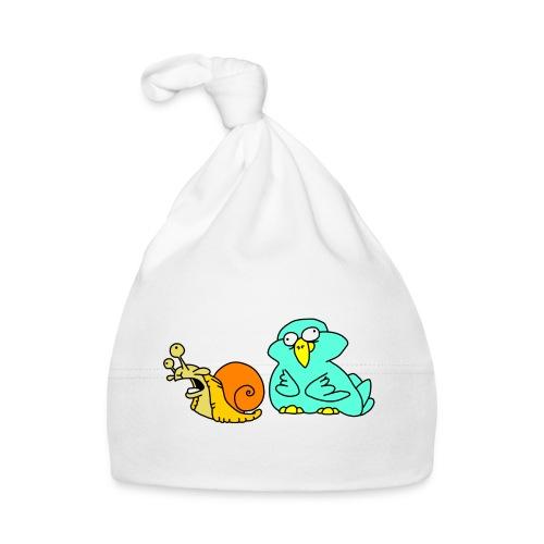 Schnecke und Vogel Nr 3 von dodocomics - Baby Mütze