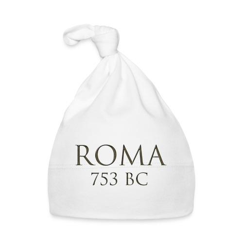 Nadruk Roma (Rzym)   Print Roma (Rome) - Czapeczka niemowlęca