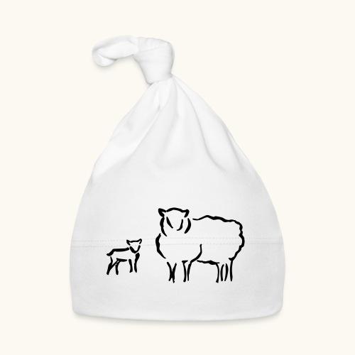 Schafzucht Lamm lustig Geschenkidee Familie Schafe - Bonnet Bébé