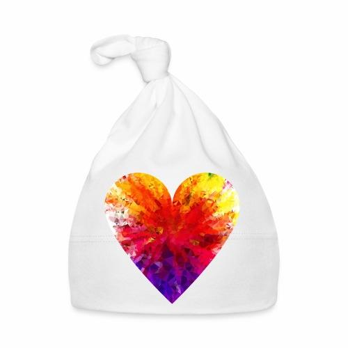Herz Kristall - Baby Mütze