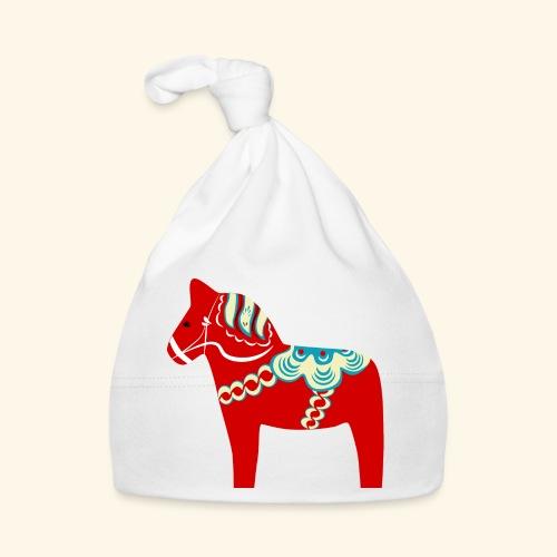 Röd dalahäst - Babymössa