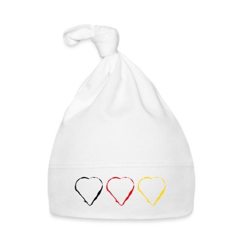 3 Herzen Deutschland #1 - Baby Mütze