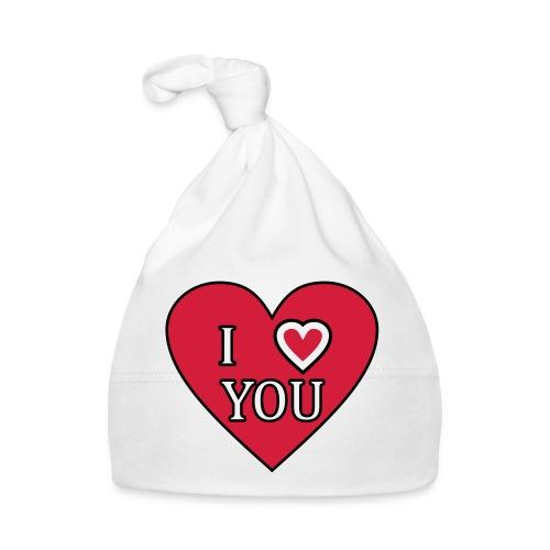 Herz - I love you - Baby Mütze