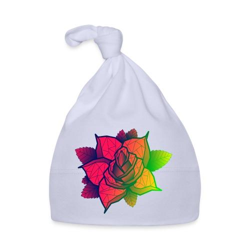 rose tricolore - Bonnet Bébé