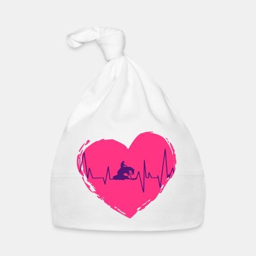Herz Heartbeat Slider Reining Herzschlag - Baby Mütze