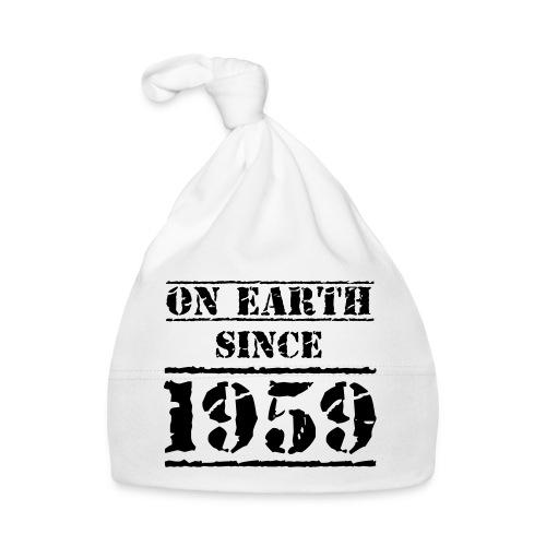 on Earth since 1959 60 Geburtstag Happy Birthday - Baby Cap
