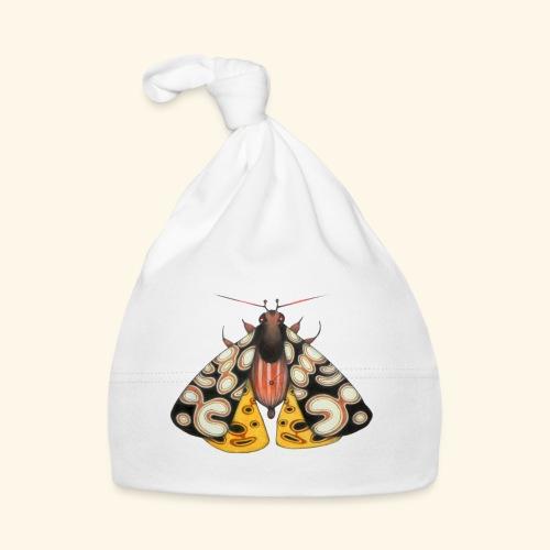 Falena gialla e nera - Cappellino neonato