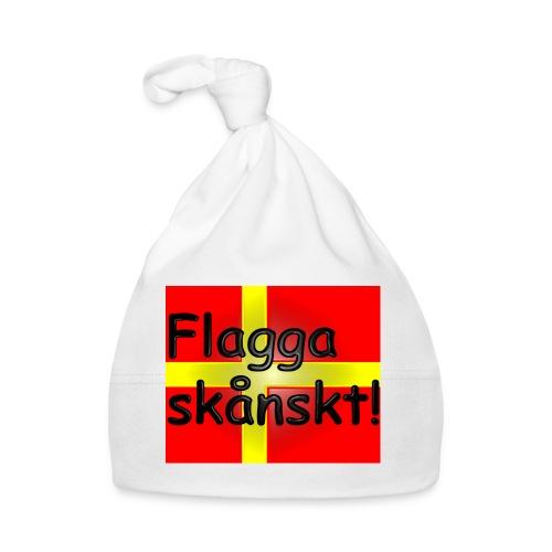 Flagga skånskt! - Babymössa