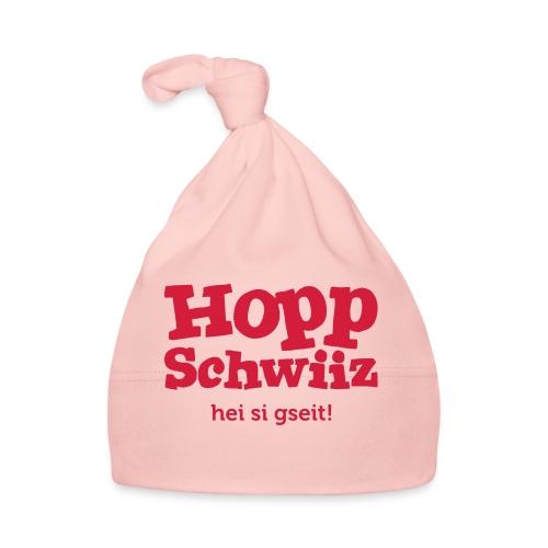 Hopp-Schwiiz hei si gseit - Baby Mütze