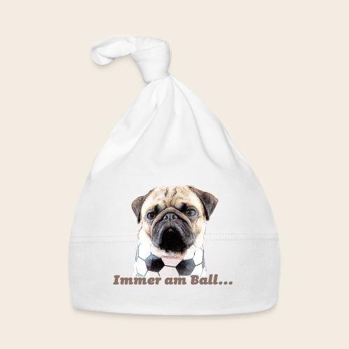 Mops am Ball 2 - Baby Mütze
