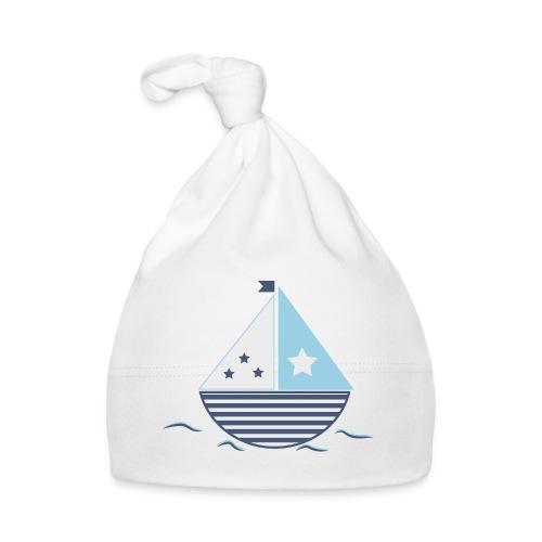 Blue sailboat - Baby Cap