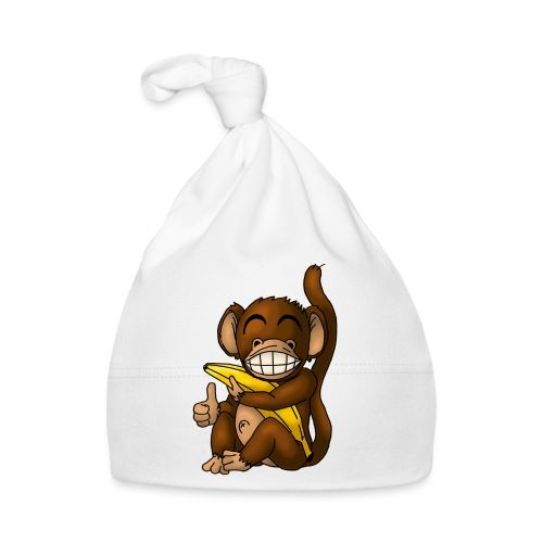 Super Fröhlicher Affe - Baby Mütze