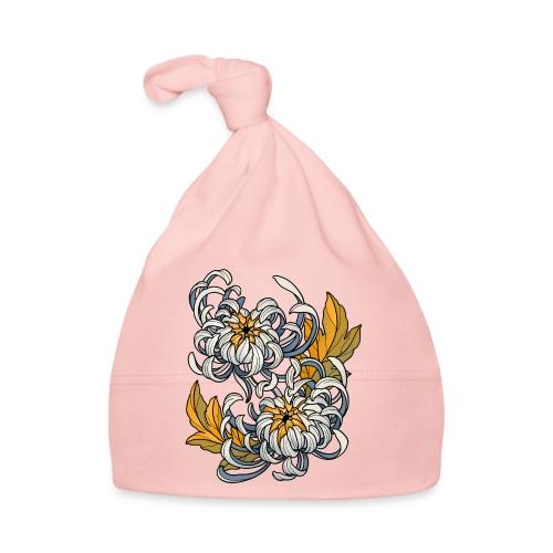 Chrysanthèmes enlacés - Bonnet Bébé