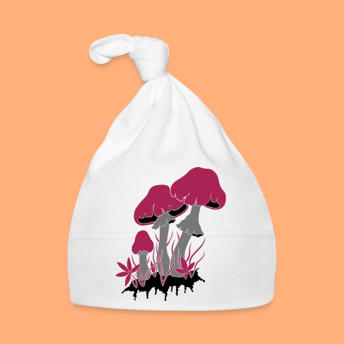 champignons - Bonnet Bébé