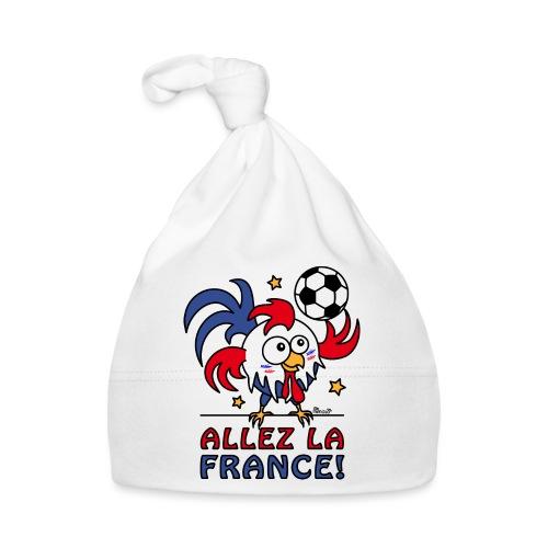 Coq Gaulois Foot Allez La France - Bonnet Bébé
