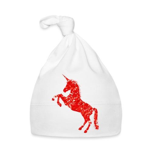 unicorn red - Czapeczka niemowlęca