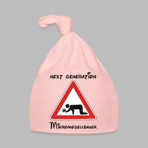 Warnschild Mikromodellbauer Next Generation - Baby Mütze