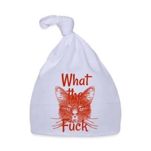 Katze mürrisch - Baby Mütze