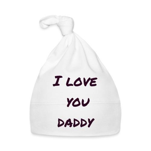 Ich liebe dich Papa - Vatertagsgeschenktipp - Baby Mütze
