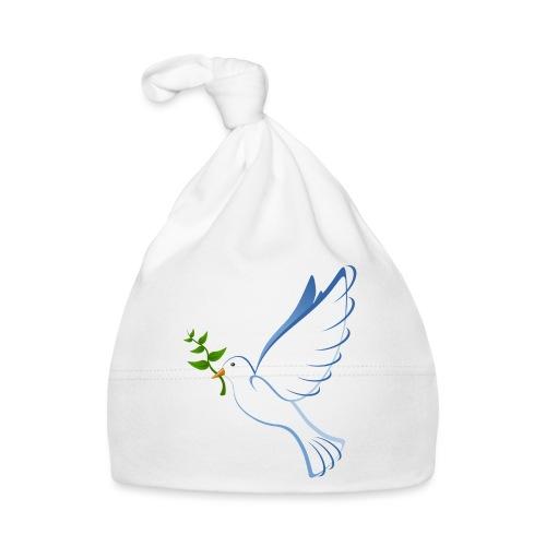 Friedenstaube - Baby Mütze