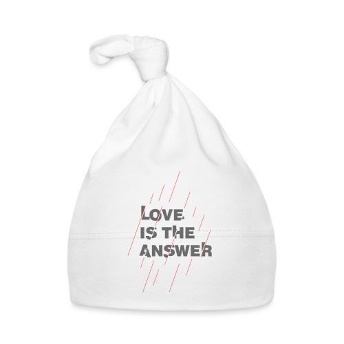 LOVE IS THE ANSWER 2 - Cappellino neonato