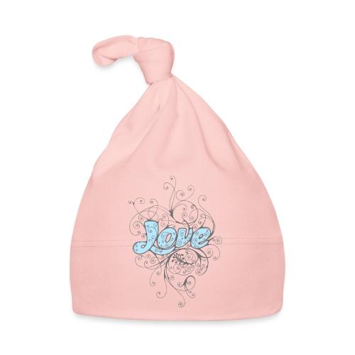 LOVE CON DECORI - Cappellino neonato