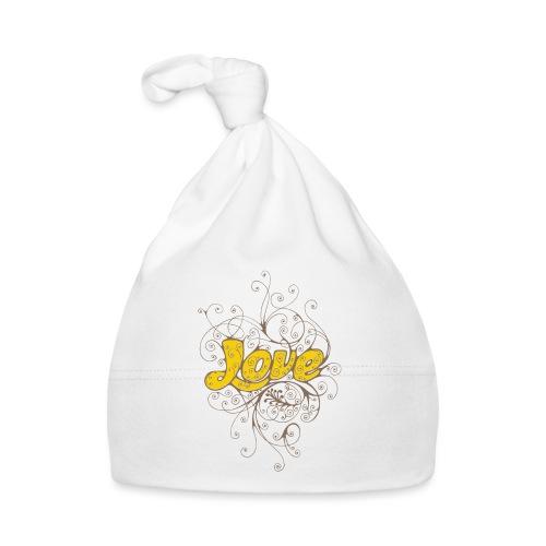 Scritta Love con decorazione - Cappellino neonato