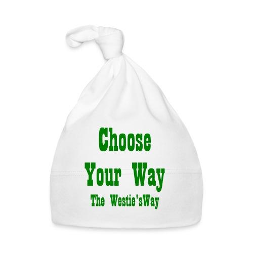 Choose Your Way Green - Czapeczka niemowlęca