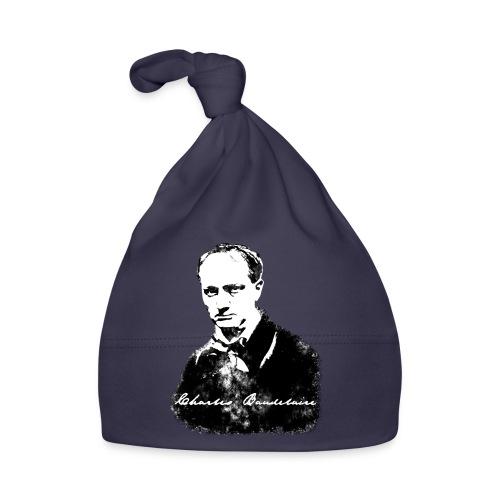 Baudelaire (fond blanc) + signature - Bonnet Bébé