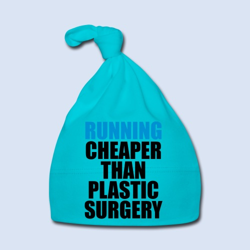 Running is cheaper than - Baby Mütze