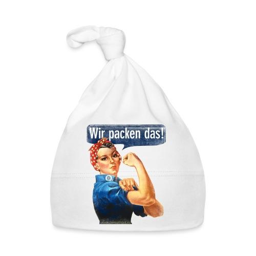 Wir packen das Frei 17cm - Baby Mütze