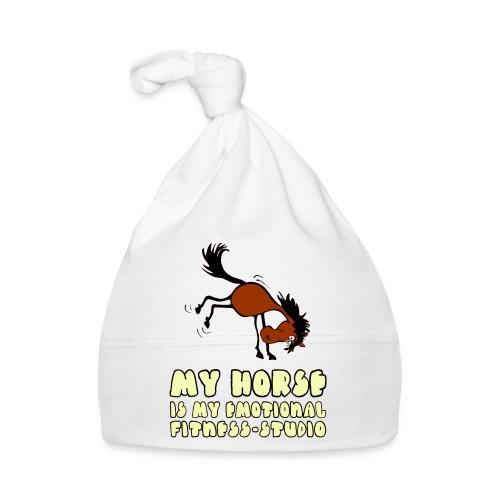 my horse is my emotional Fitness Studio - Baby Mütze