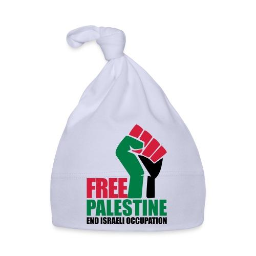 Free Palestine End Israeli Occupation - Baby Cap