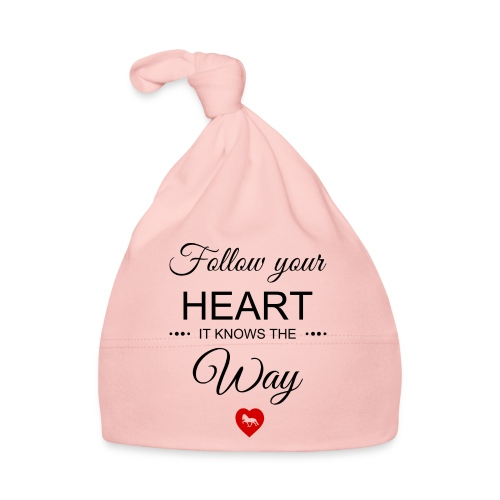 follow your heartbesser - Baby Mütze