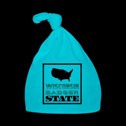 Wisconsin BADGER STATE - Baby Cap