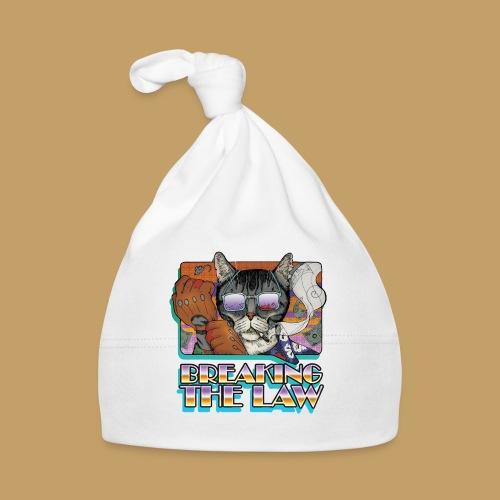 Crime Cat in Shades - Braking the Law - Czapeczka niemowlęca