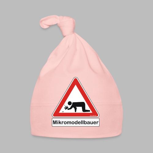 Warnschild Mikromodellbauer Auto - Baby Mütze