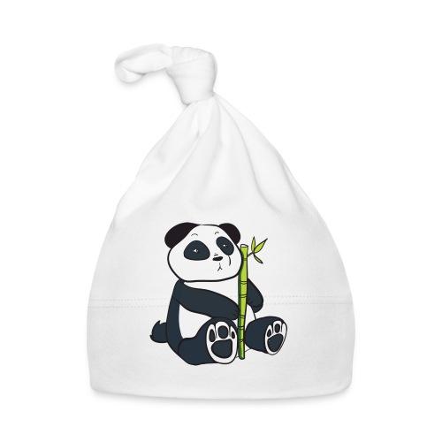 Oso Panda con Bamboo - Gorro bebé
