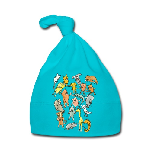 Farandole d'animaux - Bonnet Bébé