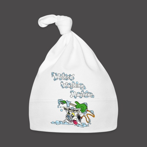 Wicked Washing Machine Cartoon and Logo - Muts voor baby's
