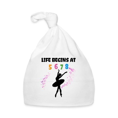 Life Begins At Ballerina - Baby Cap