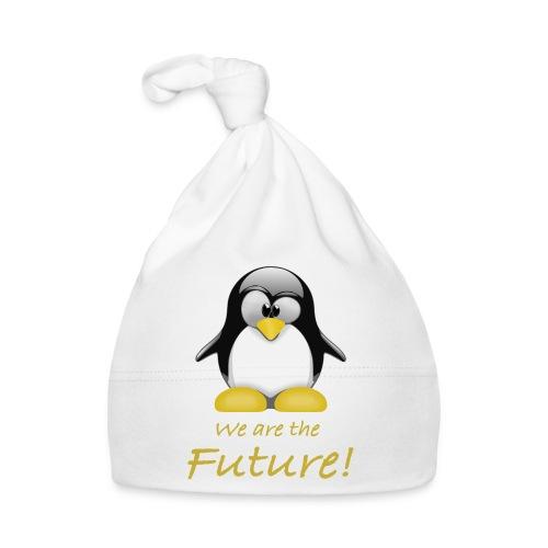 pinguin we are the future - Cappellino neonato