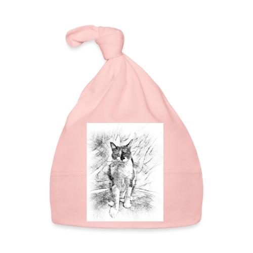 le chat prend la pose - Bonnet Bébé