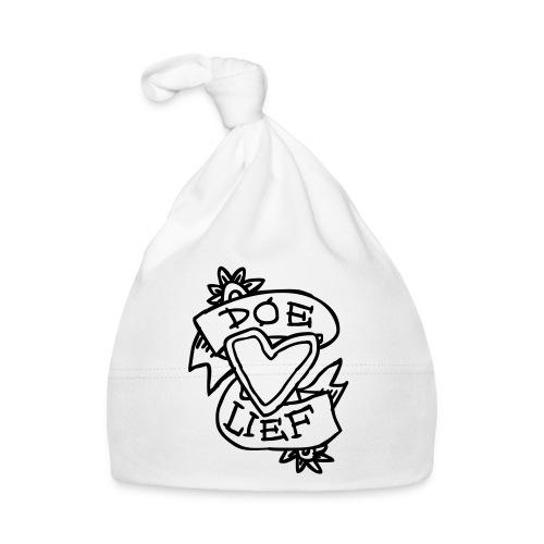 doe lief hart tattoo - Muts voor baby's