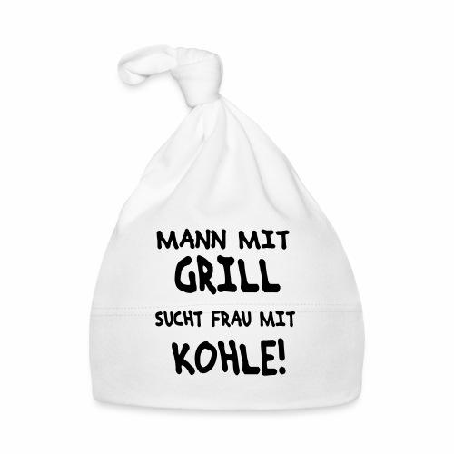 Mann mit Grill - Baby Mütze