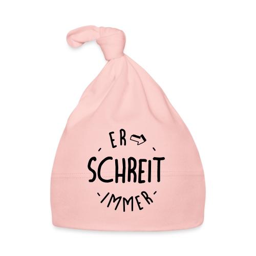 Er schreit immer - das Baby-Kinder-Acessoire - Baby Mütze