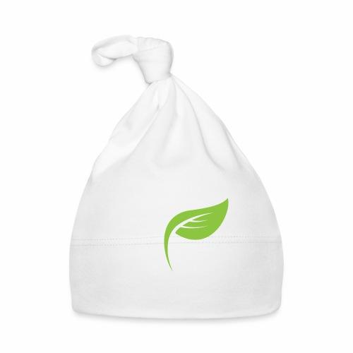 DrGreen Logo Symbol weiss grün - Baby Mütze