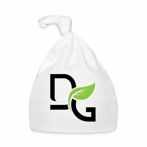 DrGreen Logo Symbol schwarz grün - Baby Mütze
