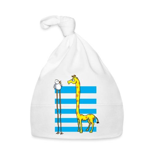 La girafe et l'échassier - Bonnet Bébé