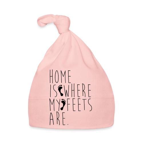 Home is where my feets are - Cappellino neonato